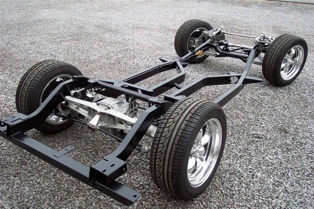 Сюда входят колеса, а также задняя и передняя подвески