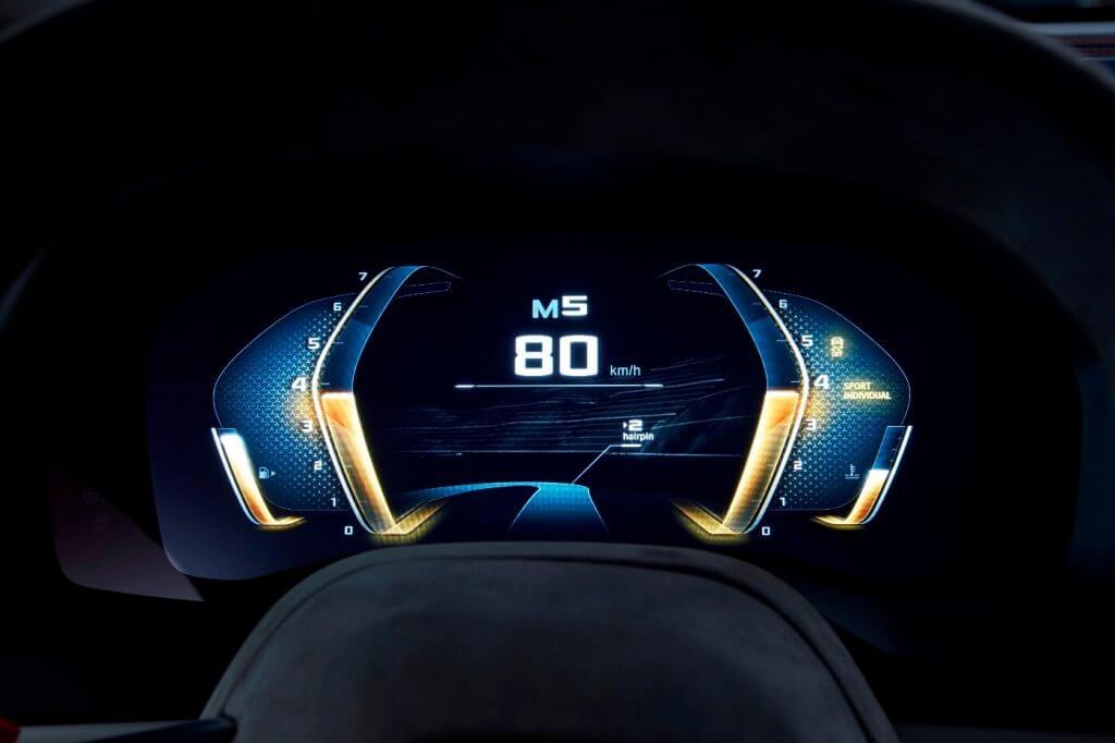 Dashboard BMW Concept 8 Series '2017