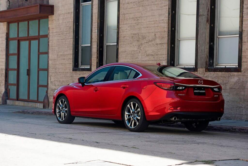 Машина Mazda 6 Sedan 2017