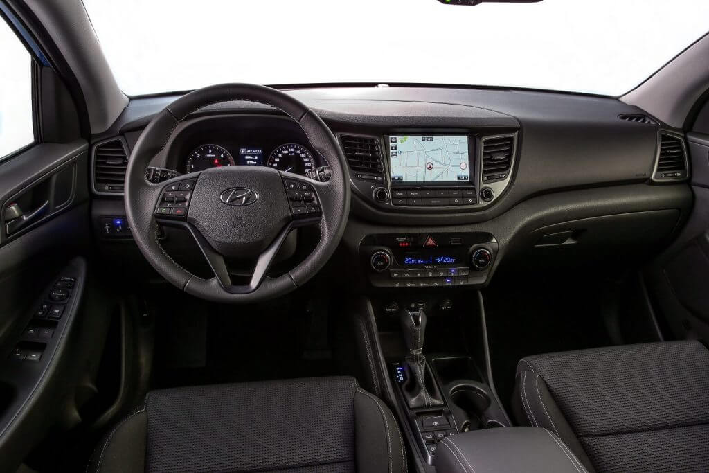 "Front panel Hyundai Tucson ""Sound Edition"" 2017"