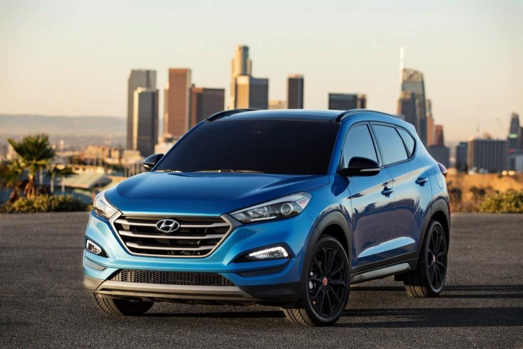 Авто Hyundai Tucson 2017