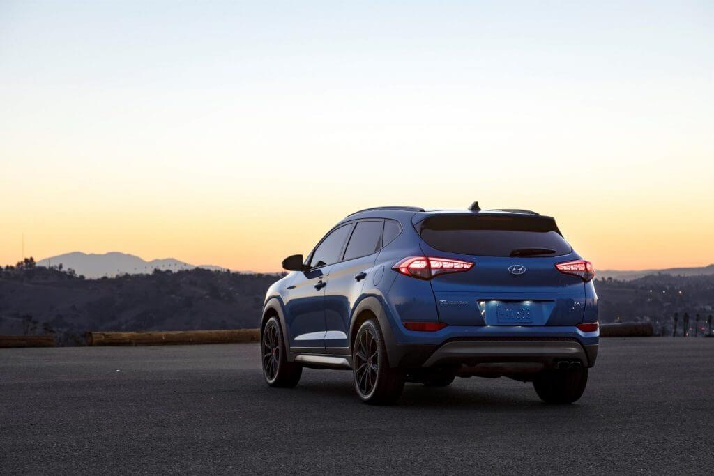 """2017 Hyundai Tucson """"Night"""" North America"""