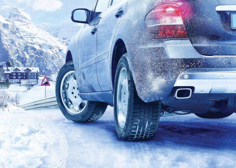 Подготовленный автомобиль к зиме