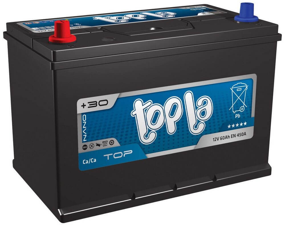 Автомобильный аккумулятор Topla 6СТ-65 Аз Top/Energy Japan