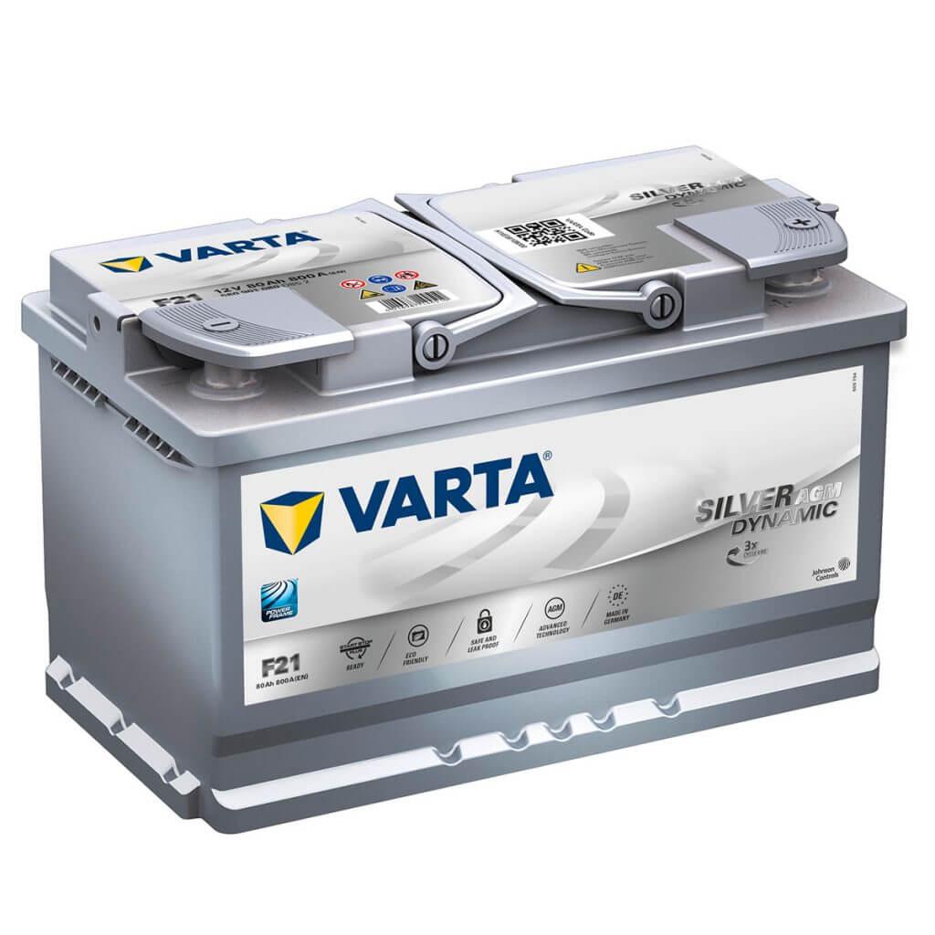 Аккумулятор VARTA Silver Dynamic AGM