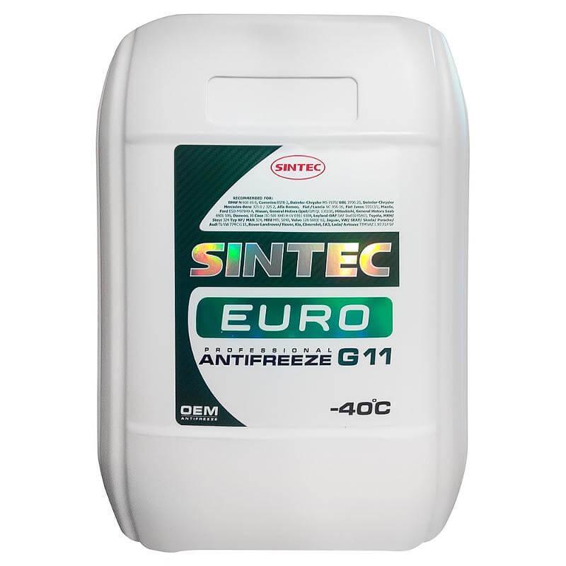 Антифриз Sintec Euro G11 (зеленый)