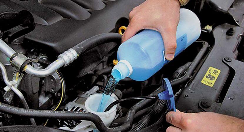 Незамерзающая жидкость для автомобиля